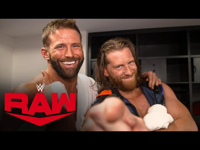 Hawkins & Ryder reveal a new catchphrase: Raw Exclusive, Oct. 21, 2019
