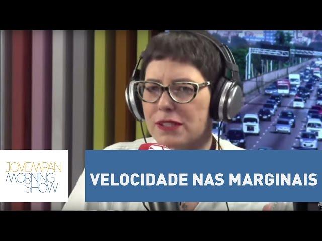 Velocidade nas Marginais: você é contra ou a favor da redução