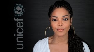 UNICEF USA: Janet Jackson Pleads for Help in Fighting Child Malnutrition