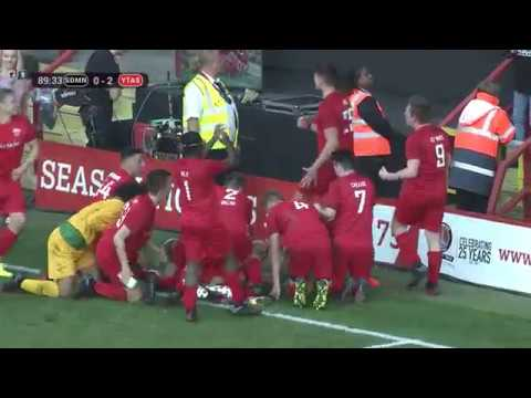 SIDEMEN FC VS YOUTUBE ALLSTARS HIGHLIGHTS 2017