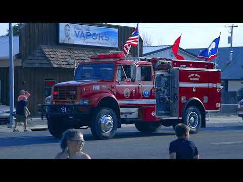 parade riverton  wy fair and car show
