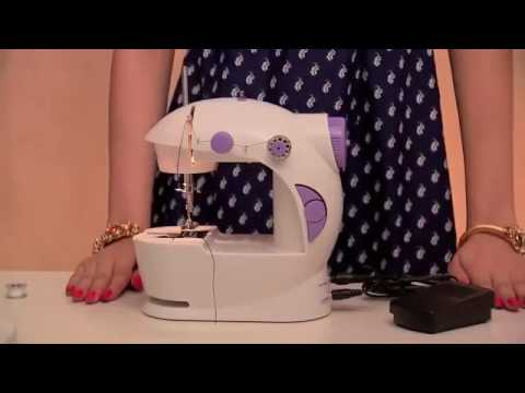 Mini Sewing Machine Demo