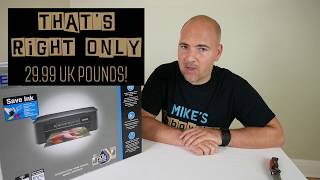 Epson XP245 AIO BUDGET Printer With INDIVIDUAL INKS Unboxing & First Look