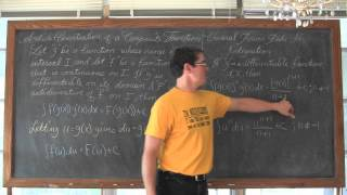 Gambar cover Indefinite Integration by U Substitution Calculus 1 AB