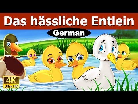 Das hässliche Entlein - Gute Nacht Geschichte - Märchen - 4K UHD - Deutsche Märchen