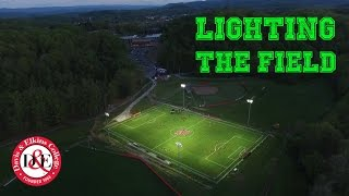 Lighting the Field at Davis & Elkins College