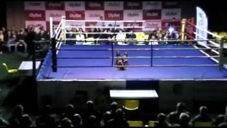 Катя Самбука выступила на боксерском шоу в Ахтме