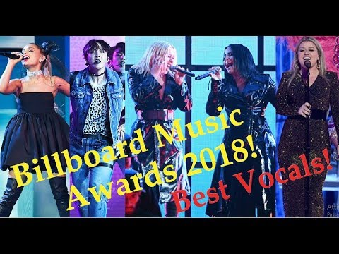 Famous Singers SLAY at Billboard Music Awards 2018! Best Vocals!