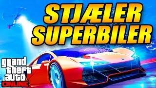 STJÆLER SUPERBILER - MIN EGEN VIRKSOMHED - DANSK GTA 5 ONLINE - [#10]