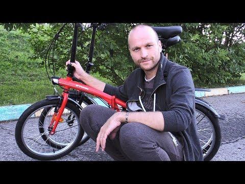 """Обзор двух складных велосипедов  """"B'TWIN"""" TILT 100, 120 -20 / сравнение .../"""