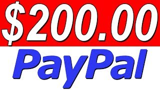 Earn $200 In PayPal Money Again & Again (BONUS TIP TO MAKE MORE$$$!)