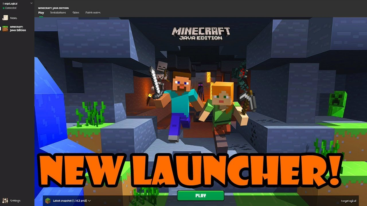 HOW TO USE THE MINECRAFT JAVA LAUNCHER - YouTube
