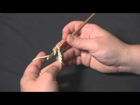 How to Crochet: Foundation Double Crochet FDC (Right Handed)