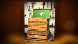Wood Tool Cabinet Sets