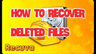 How To Recover Deleted Files In Windows 10 7 8.1 for free