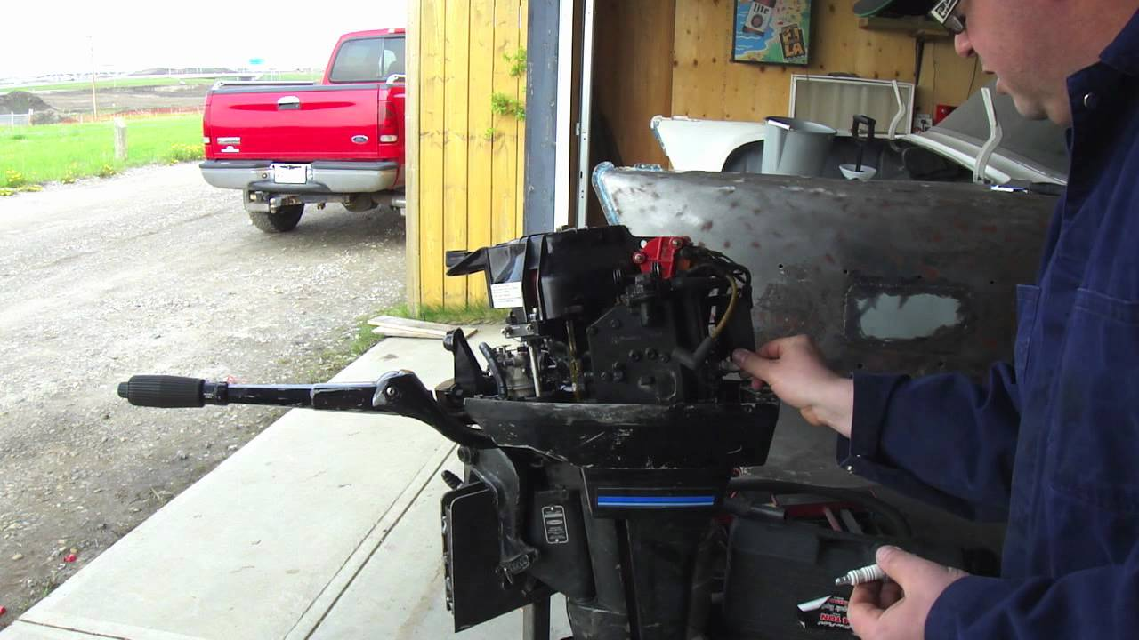 Outboard Tune Up And Lower Leg Oil Change