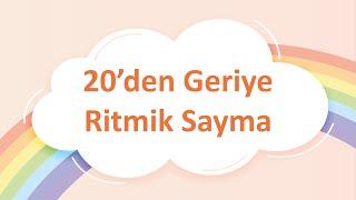 20den Geri Ritmik Sayma