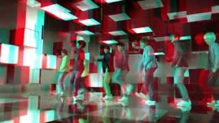 [REAL 3D] SuperJunior - Mr.Simple MV(LG Ver.) HD ft. F(x)