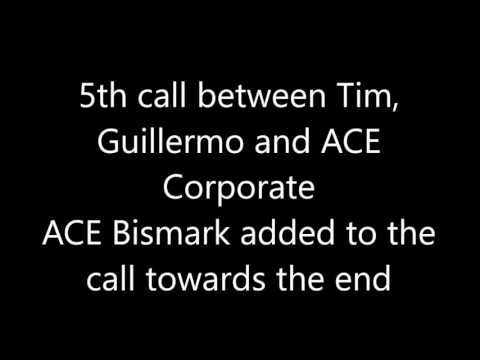 URGENT Please listen to the end Calls to ACE Corporate