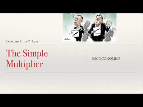 Simple Multiplier - HSC Economics