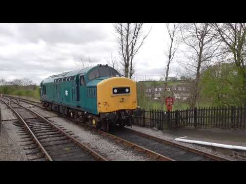Embsay and Bolton Abbey Steam Railway - BR Class 37 37294 (D6994)  - Embsay Station