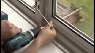 Установка ограничителя открывания окна Jackloc(Заказать ограничители на окна Jackloc и больше информации о них на официальном сайте http://jackloc.ru 0:03 Это видео..., 2012-12-22T08:54:44.000Z)