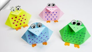 DIY paper crafts for kids | DIY paper toys | Easy paper birds