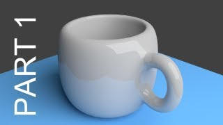 Blender Tutorial For Beginners: Coffee Cup - 1 of 2(http://www.LittleWebHut.com This Blender 3D video demonstrates how to make an image of a cup with a handle using the cycles render engine. Blender version ..., 2012-10-12T22:52:29.000Z)