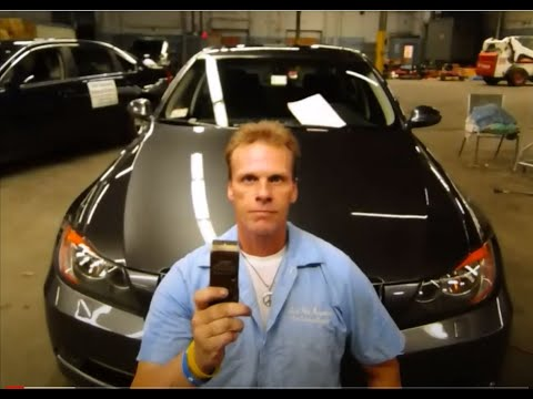 """How to remove Epoxy spray paint overspray """"Auto Paint Overspray Removal of Texas Onsite Services"""""""