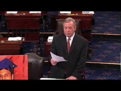 Se. Durbin about his travel to Ukraine