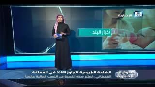 أخبار البلد: الرضاعة الطبيعية تتجاوز 69% في المملكة