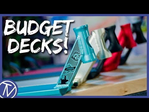 Top 5 BUDGET Scooter Decks! │ The Vault Pro Scooters
