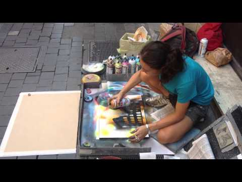 Painter in Rome