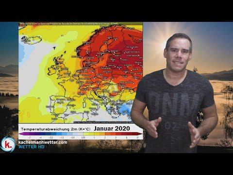 Wechselhaftes Wetter - Januar Auf Deutlichem Mildkurs