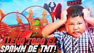 TROLLEO a un ADMIN con SPAWN de TNT | TROLLEOS EN MINECRAFT #222