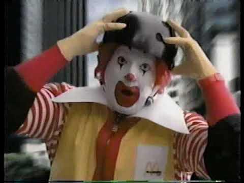 McDonald's Ronald McDonald Skateboarding 90s Commercial (1999)