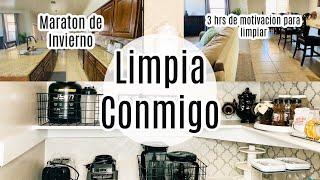 LIMPIA CONMIGO MARATON 2020 Invierno- Motivate a limpiar toda la casa todo el dia!