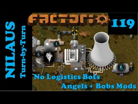 Factorio S6E119 - New MOX powered Nuclear Power Plant
