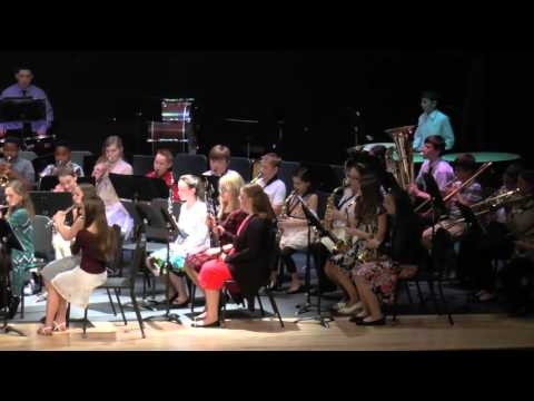 Northley Middle School Spring Band Concert 2016