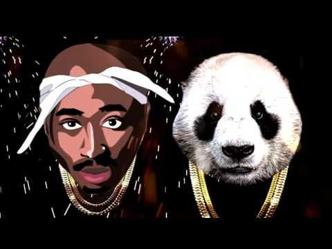 2Pac feat  Eminem & Eazy E   PANDA Remix 2016   Tupac Thug