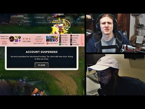HASHINSHIN GETS BANNED AFTER HARD INTING 0/19 | APHROMOO WITH THE LITERAL BLIND HOOK | YASSUO | LOL
