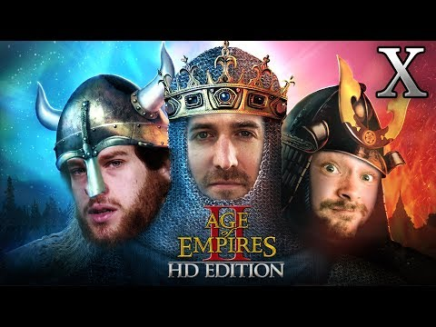 Age Of Empires 2 HD Edition 2v1 #10 | Florentin & Donnie vs. Marco
