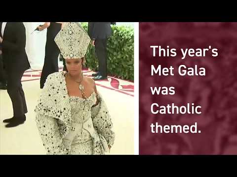 What was it like to be a real priest at the Catholic-themed Met Gala