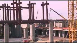 Строительство нового железнодорожного вокзала.(22 000 000 пассажиров ежегодно перевозятся КТЖ. 17 000 из них каждый день встречаются и прощаются на железнодорожн..., 2015-08-17T08:20:05.000Z)