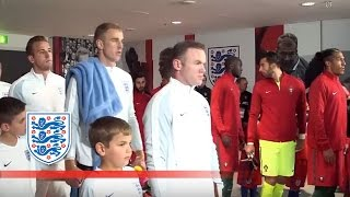Tunnel Cam - England v Portugal (2016 Friendly) | Inside Access