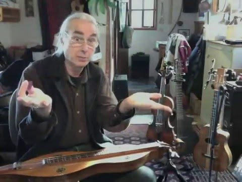 "Fiddle tune ""Indian Ate the Woodchuck"" on dulcimer"