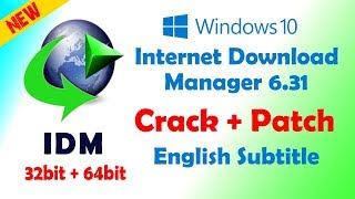 Gambar cover Internet download manager IDM v6.31 WINDOW 10 Free Cracked Full version 2018-19 for 32-bit & 64-bit