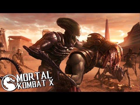 ЧУЖОЙ! ПРОХОЖУ ИСТОРИЮ в Mortal Kombat X