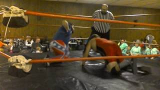 Benny Bray vs Luke Wilder TSW AWA memorial title match