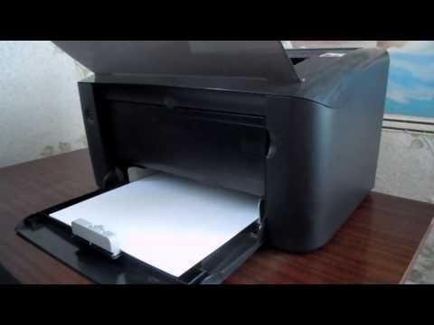 видео: Принтер canon lbp3010b